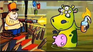 БОЛОТНАЯ Атака #16 Мультик Игра для детей Swamp Attack Мульт ИГРА #Мобильные игры