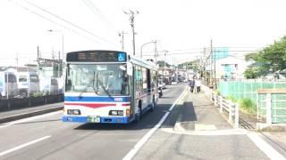 京急ファミリー鉄道フェスタ臨港バス入場シーン