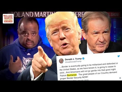 Trump Tweets Quote From Pat Buchanan Column That Contains White Supremacist Rhetoric
