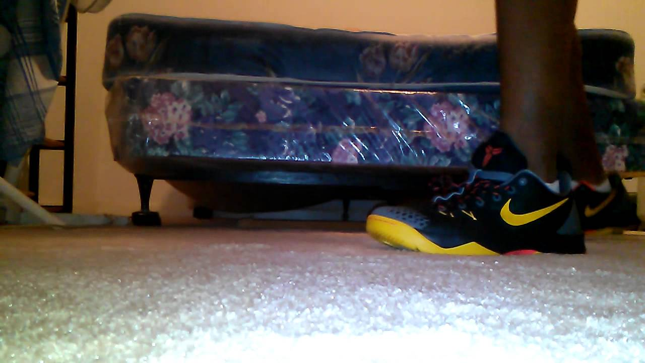 new product d0808 02d5f Nike Kobe Venomenon 4 Kung Fu Review   on feet - YouTube