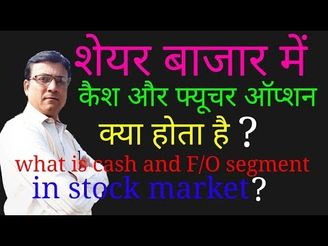 stock market besic//what is cash & future/option//what is segment//episode 9