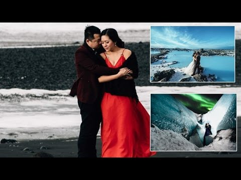 Couple Takes Incredible Engagement Photo Shoot In Sub Zero Weather