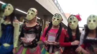 【2016年10月8日】地下アイドル・仮面女子(アーマーガールズ)が「SG...