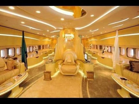 Inside the private Aircraft of Prince of Abu Dhabi