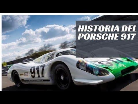 Os contamos la historia del PORSCHE 917