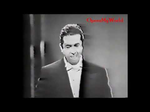 "Giuseppe Di Stefano - ""Che Gelida Manina"" - 4/11/1962 (Rare Video) [Improved Sound]"
