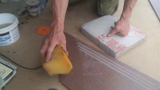 Снятие фаски черепашками на ступенях из керамогранита(, 2017-05-06T17:20:44.000Z)
