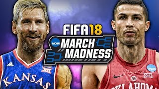 WHAT IF THE MARCH MADNESS TOURNAMENT WAS IN FIFA 18?
