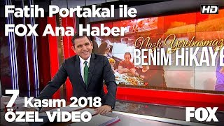 Et fiyatlarına besici ne diyor? 7 Kasım 2018 Fatih Portakal ile FOX Ana Haber