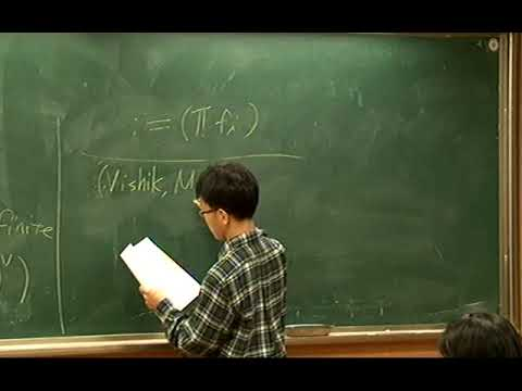 Kim Byung Doo (Victoria University of Wellington)/ Iwasawa theory for modular forms...