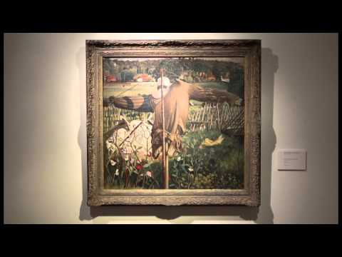 Video: Sir Stanley Spencer's The Scarecrow, Cookham