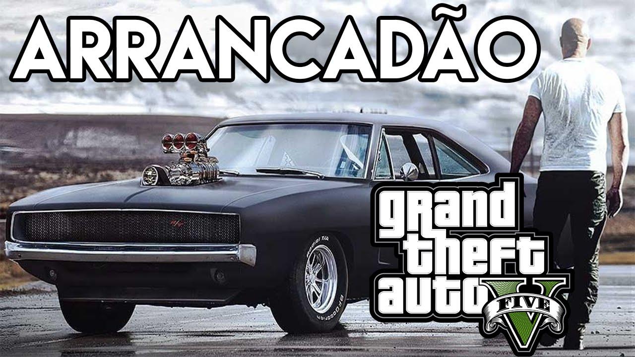Gta Car Wallpaper Gta V Mod Arrancada De Dodge Charger Do Toretto Velozes E