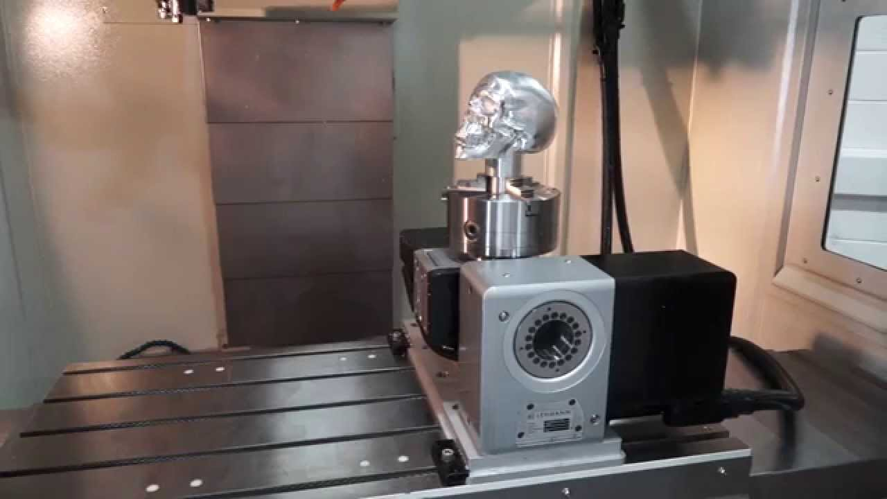 Lehmann 5 Axis Cnc Rotary Table On An Xyz Machining Centre