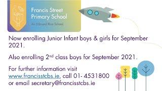 Francis Street School - Virtual Tour Around Our School
