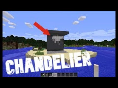 How To Make A Chandelier Minecraft, How To Make A Chandelier In Minecraft Education Edition