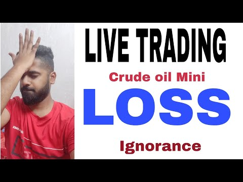 LIVE TRADING – LOSS ( MCX) – Lesson learnt – Crude oil M