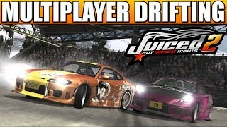 Juiced 2 Multiplayer - Massive Spiral Drifting, Ice Racing & More ft Andy