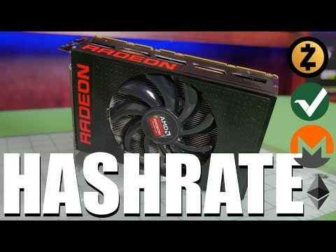 AMD R9 Fury Nano Hashrate | Zcash | Monero | Ethereum | Vertcoin |