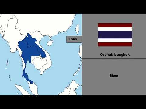 Alternate History Of Thailand 1805 - 2018