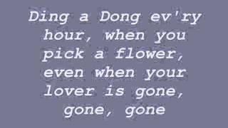beFour - Ding-A-Dong Lyrics