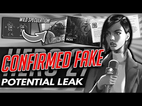 "Overwatch | [CONFIRMED FAKE] HERO 27 POTENTIAL ""LEAK"" + Wild Speculation"