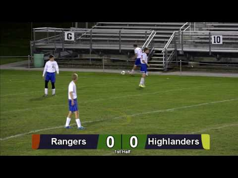 Forest Hills Varsity Boys' Soccer vs Cambria Heights 2016