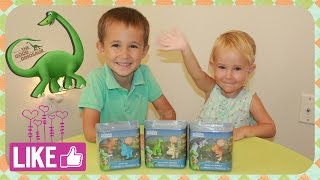 The Good Dinosaur toy action figures  Хороший динозавр премьера обзор игрушки.(Dinosaur toys from the new Disney Pixar dinosaurs movie The Good Dinosaur 2015. In this video from our series of toy opening videos, we're unboxing the ..., 2015-11-25T00:02:09.000Z)