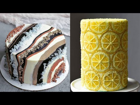 Top 10 Amazing Chocolate Cake Decorating Ideas | Beautiful Chocolate Birthday Cake
