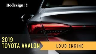 Hot Car News!!! 2019 Toyota Avalon Redesign Limited Hybrid Touring