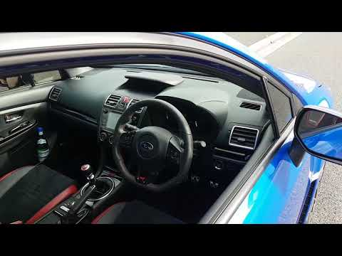 2018 Subaru WRX STi spec r curb weight fuel consumption technically a heavier slower car