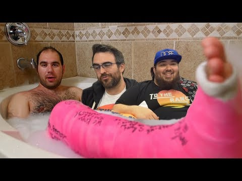 Man Addicted To Wearing Casts | React Couch