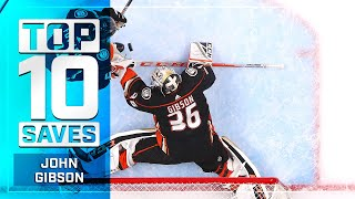Top 10 John Gibson Saves from 2019-20   NHL