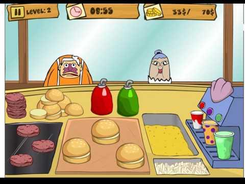 Губка Боб на работе/Spongebob Patty Dash (level 2)
