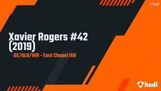 Xavier Rogers   ECHHS Football VARSITY Highlights Jr   Class of 2021 Part A 2019