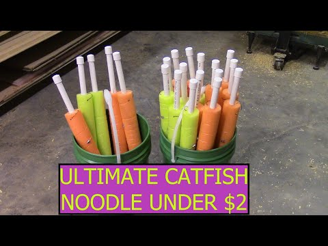 DIY Catfish Noodles For Under $2