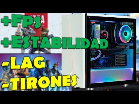 🎮💻OPTIMIZAR PC | +FPS ESTABLES | REDUCIR USO DE DISCO DURO Y CPU | Guía Completa 2019⌛