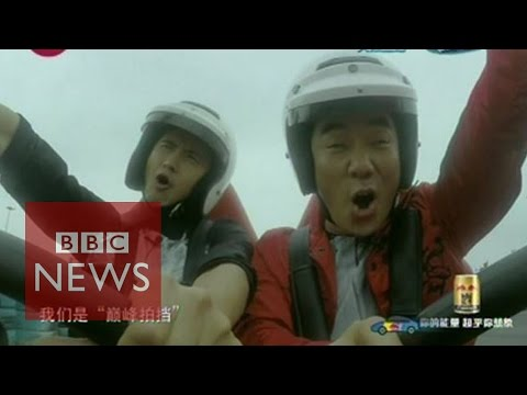 Top Gear comes to China without Jeremy Clarkson - BBC