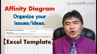 Use An Affinity Diagram To Organize Your Issues Ideas Excel Template Process Improvement It Consulting Econoshift Com