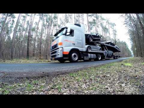 GoPro Trucking car transport Europe