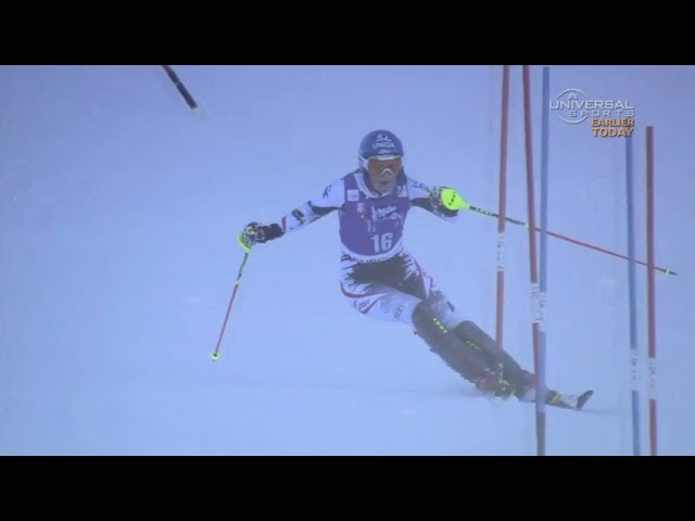 Marlies Schild makes Slalom history at Courchevel - Universal Sports