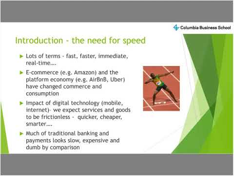 Intro To 'Faster Payment Systems' – implications for emerging economy payment systems