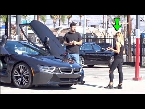 GOLD DIGGER PRANK PART 1! | BLU3ICE
