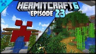 District Upgrades & The FIRST HOMES! | Hermitcraft 6 (Minecraft Survival Let