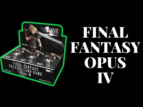 Final Fantasy Opus IV Booster Box Opening!  Nuts Pulls (As Usual)