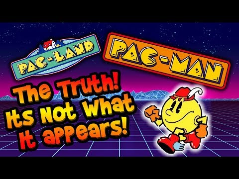 Pac-Man Is Not What It Appears! Ghosts Are Mutants! The Truth!? Or Conspiracy Theory?