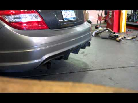 Mhp c63 headers race exhuast cams