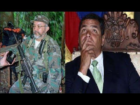 Gracias a Rafael Correa las FARC y el Narcotráfico se enquistaron en Ecuador 🆘