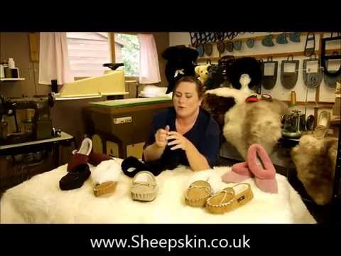 Traditional Range Handcrafted Sheepskin Slippers