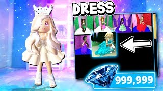 I Spent $20,000 DIAMONDS On This Dress In Roblox! (Royale High Roleplay)