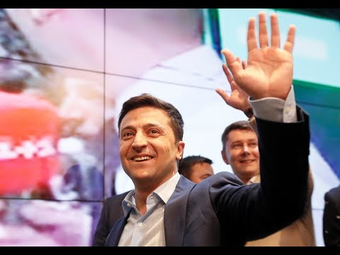In Ukraine, could a comedian's landslide victory help reset relations with Russia?